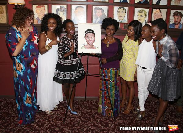 Lupita Lyong'o   Liesl Tommy, Saycon Sengbloh, Akuosa Busia, Pascale Armand, Zainab Jah, and Danai Gurira