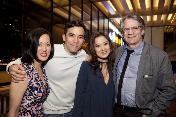 MaryAnn Hu, Conrad Ricamora, Ashley Park, Bartlett Sher