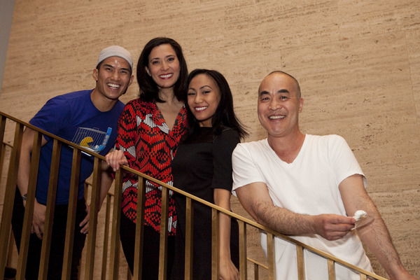 Christopher Vo, Ann Sanders, LaMae Caparas, Marc Oka Photo
