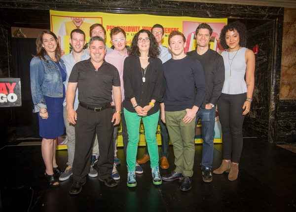 Susan Vargo, Nick Blaemire, Danny Skinner, Carlos Lopez, Kyle Jarrow, Tina Landau, Ga Photo