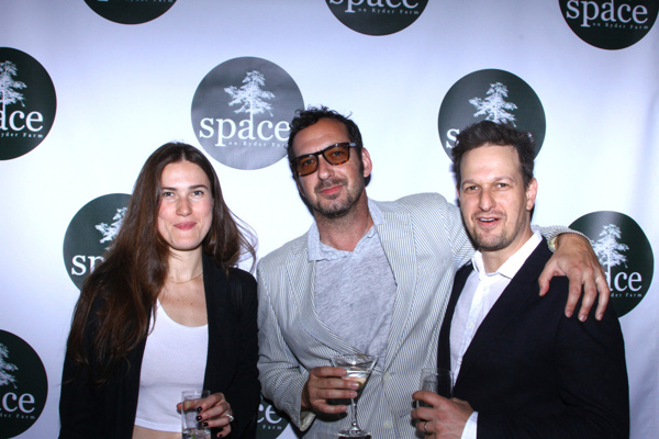 David Bar Katz, Josh Charles, and Crystal Arnette
