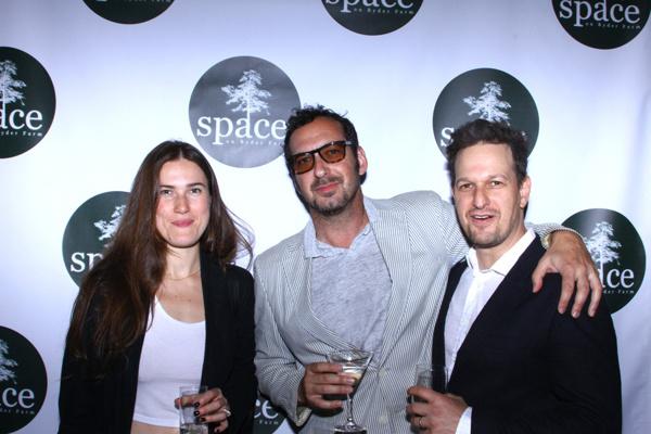 David Bar Katz, Josh Charles, and Crystal Arnette