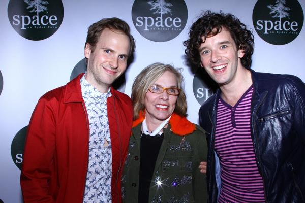 Ryan Spahn, Marsha Norman, and Michael Urie