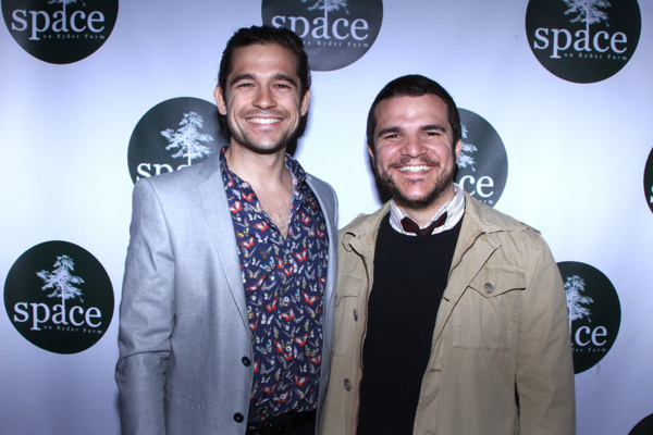 Jason Ralph and Frank Winters