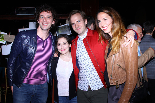 Michael Urie, Ryan Spahn, Mallory Portnoy, and Crystal Arnette