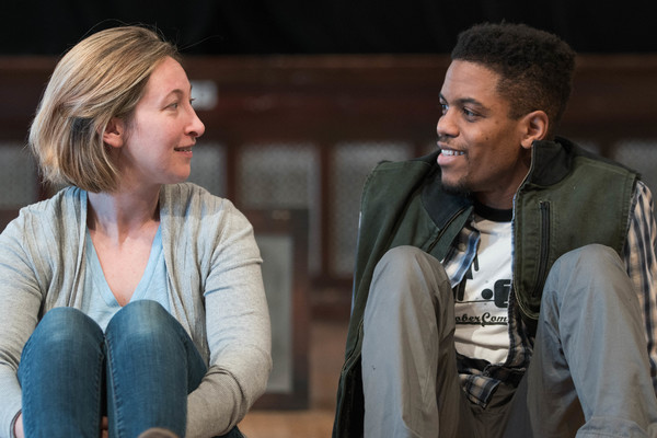 Jessie Fisher as Marianne and Jon Michael Hill as Roland
