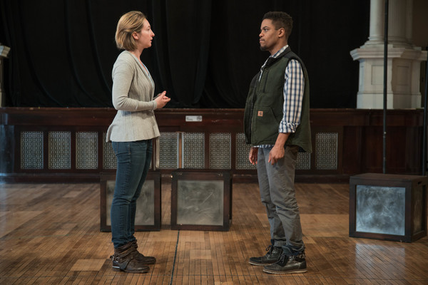 Jessie Fisher as Marianne and Jon Michael Hill