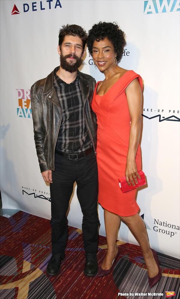 Ben Whishaw and Sophie Okonedo