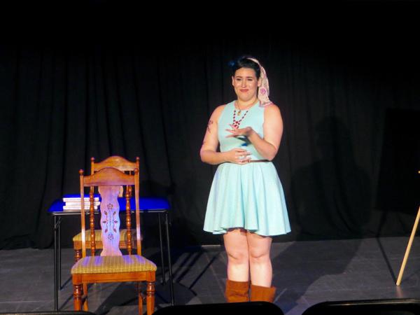 Lauren Ashleigh Morrison as Nessa Reilly in 'The Unavailable Man Magnet'Photo Credit: Michelle Scheirer