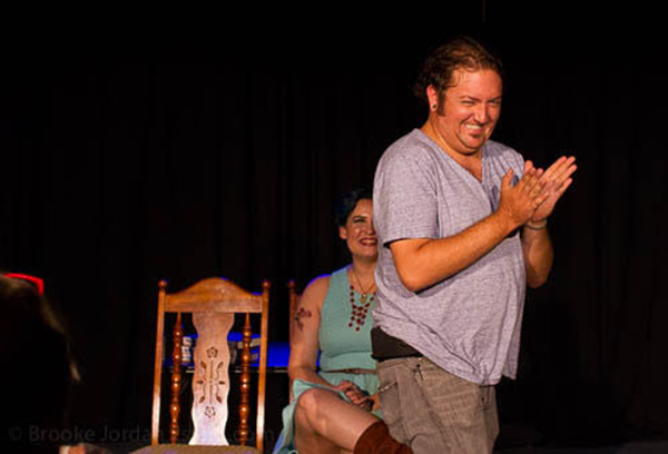 Christopher Hampton as Charlie Lewis in 'The Unavailable Man Magnet'Photo Credit: Brooke Jordan