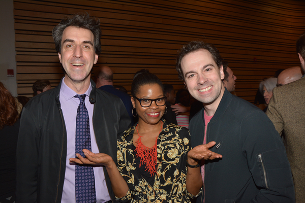 Jason Robert Brown, Ruthlyn Salomons and Rob McClure