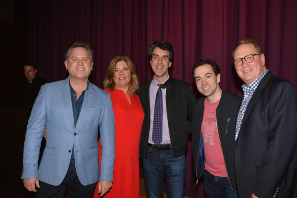 Kenneth Avery-Clark, Christie Miller, Jason Robert Brown, Rob McClure and Steven Purdy