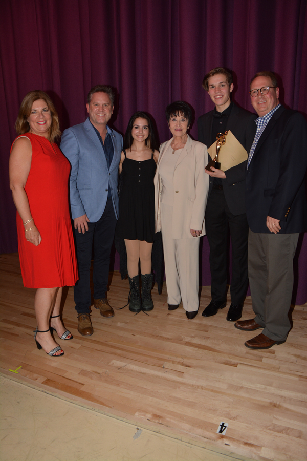 Christie Miller, Kenneth Avery-Clark, Templar Wright, Chita Rivera, Alexander Pacella and Joseph Purdy