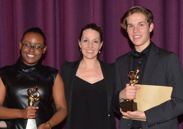 Sarafina Morency, Shannon Lewis and Alexander Pacella