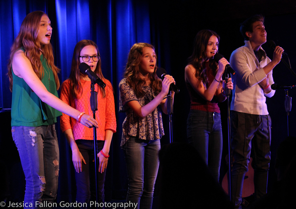 Madilyn Jaz Morrow, Oona Lawrence, Sophia Gennusa, Ava DeMary and Sawyer Nunes