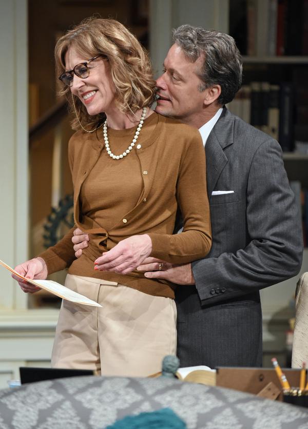 Christine Lahti and Steven Culp.