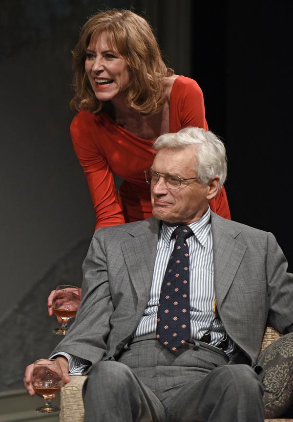 Christine Lahti and David Selby.