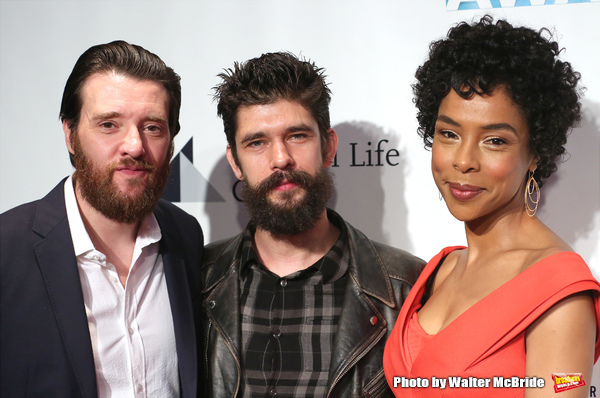 Jason Butler Harner, Ben Whishaw and Sophie Okonedo