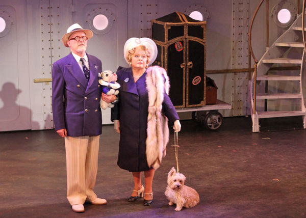 Steve Brady and Sally Struthers
