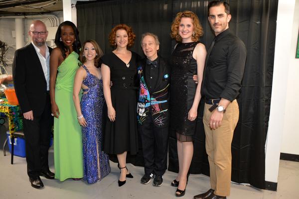 Scott Coulter, Jeannette Bayardelle, Christina Bianco, Kerry O'Malley, Scott Siegel, Christiane Noll and Cooper Grodin