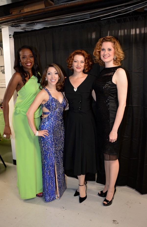 Jeannette Bayardelle, Christina Bianco, Kerry O'Malley and Christiane Noll