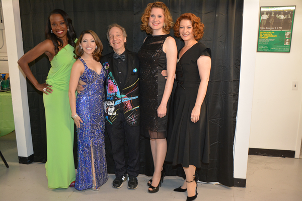 Scott Siegel, Jeannette Bayardelle, Christina Bianco, Christiane Noll and Kerry O'Malley