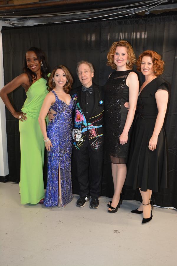 Jeannette Bayardelle, Christina Bianco, Scott Siegel, Christiane Noll and Kerry O'Malley