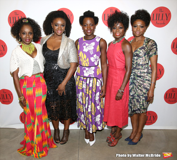 Akosua Busia, Saycon Sengbloh, Danai Gurira, Lupita Nyong'o, Zainab Jah, and Pascale Armand