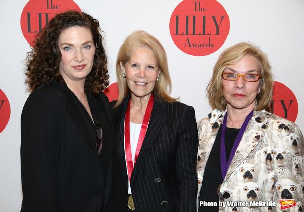 Julia Jordan, Daryl Roth and Marsha Norman
