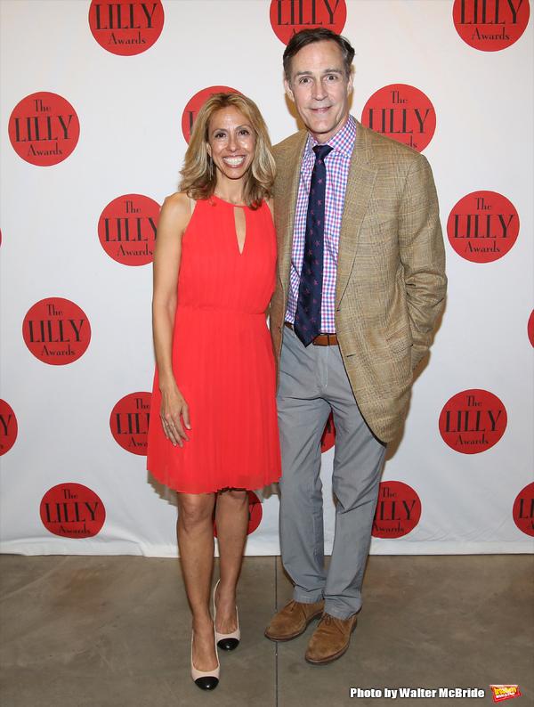 Amanda Green and Howard McGillin