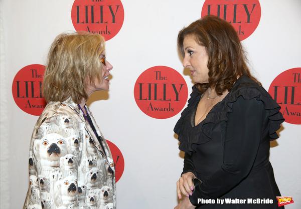 Marsha Norman and Kathy Najimy