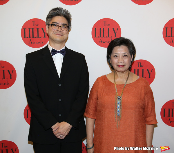 Lloyd Suh and Mia Katigbak