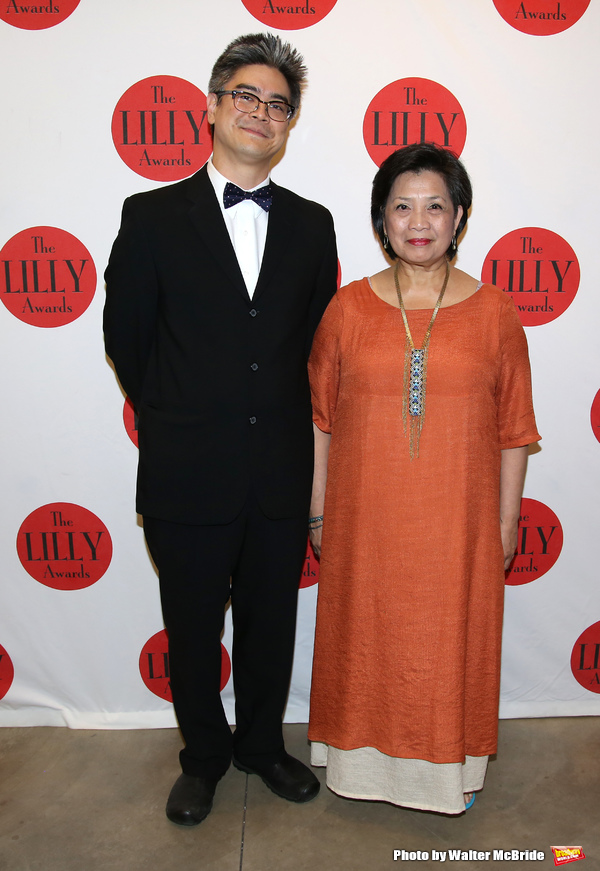 Lloyd Suh and Mia Katigbak
