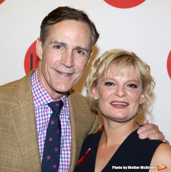 Howard McGillin and Martha Plimpton