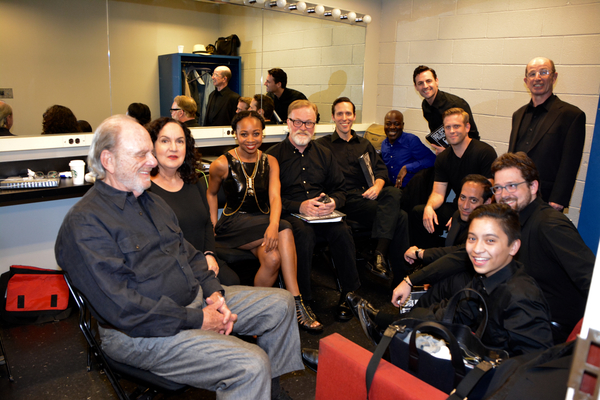 Harris Yulin, Olga Merediz, Sharia Irving, Ames Adamson, Marc Levasseur, Aaron Lee Battle, Brian Cade, James Rana, Everett Quinton, Daniel Schwait, Max Von Essen and Bonale Fambrini