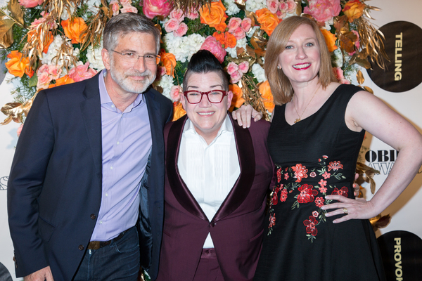 Peter Barbey, Lea DeLaria, Heather Hitchens