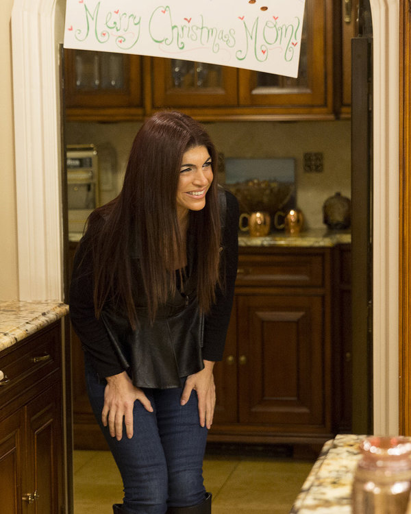 THE REAL HOUSEWIVES OF NEW JERSEY -- Pictured: Teresa Giudice -- (Photo by: Greg Endries/Bravo)