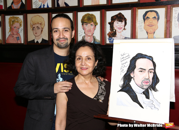 Lin-Manuel Miranda with mother Luz Towns-Miranda