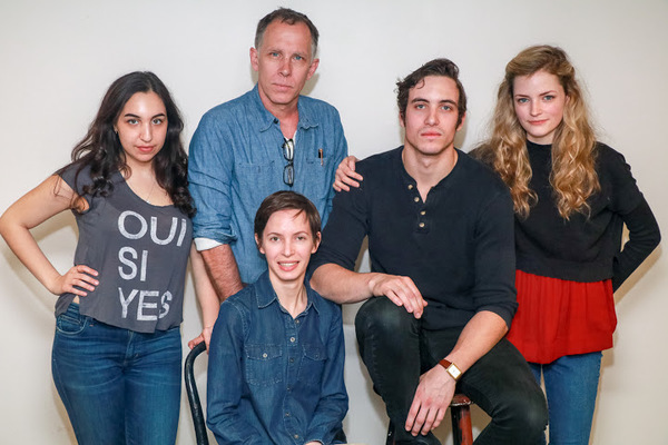 Dea Julien, Bruce McKenzie, Jocelyn Kuritsky (seated), Jack Fellows, Lexi Lapp.