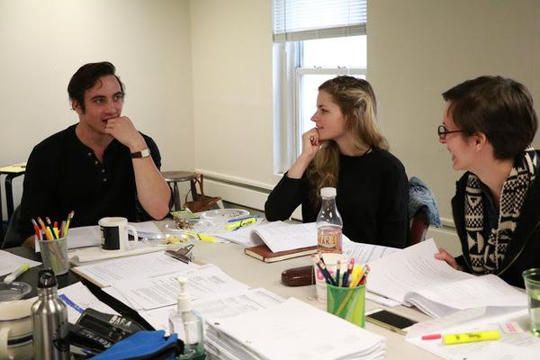 Jack Fellows, Lexi Lapp and Jocelyn Kuritsky
