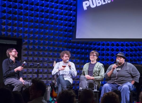 Michael Friedman, Gabriel Kahane, Stephen Trask, and Toshi Reagon