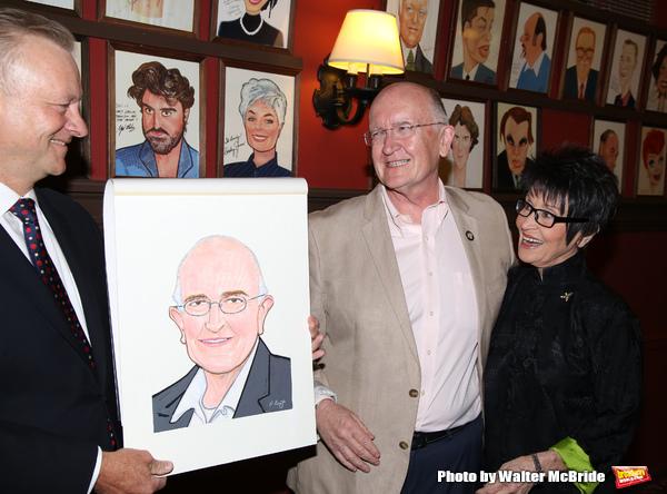 Max Klimavicius, John Doyle and Chita Rivera a