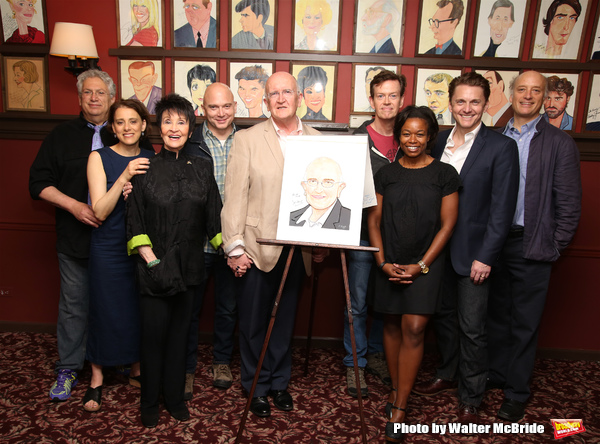 Harvey Fierstein, Judy Kuhn, Chita Rivera, Michael Cerveris, John Doyle, Dylan Baker, Quincy Tyler Bernsteine, Jason Danieley and Frank Wood