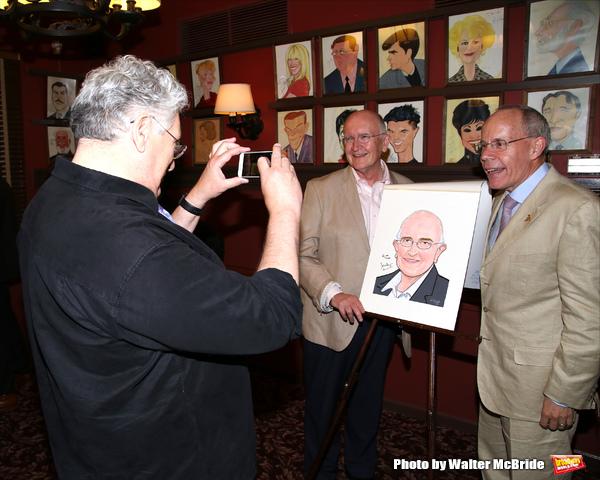 Harvey Fierstein, John Doyle and husband Robert Wilson  Photo