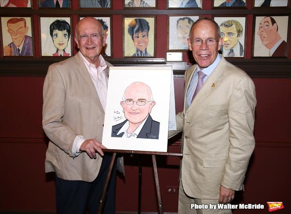 John Doyle and husband Robert Wilson  Photo