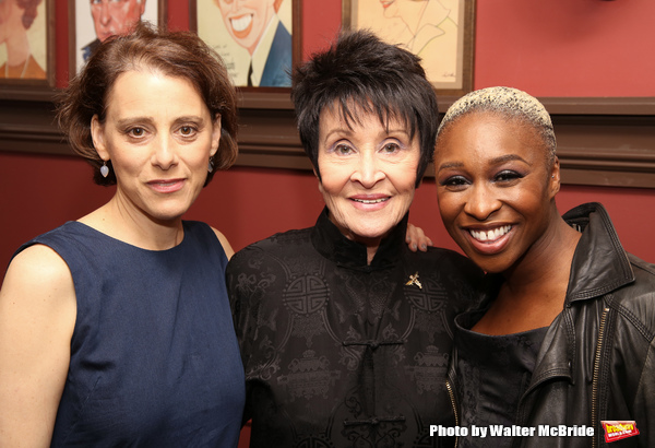 Judy Kuhn, Chita Rivera and Cynthia Erivo