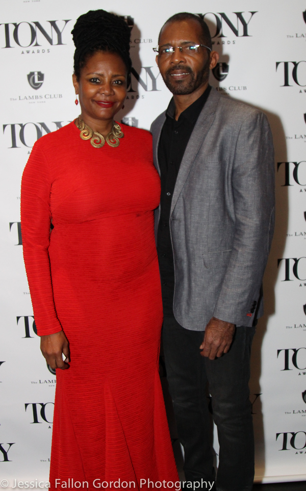 Tonya Pinkins and Daryl Waters