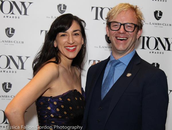 Elena Araoz and Justin Townsend