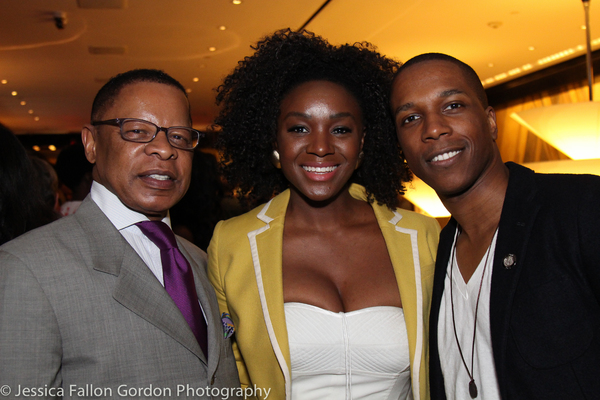 Stephen C. Byrd, Saycon Sengbloh and Leslie Odom, Jr. Photo