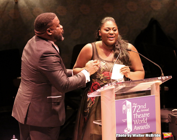 Phillip Boykin and Danielle Brooks